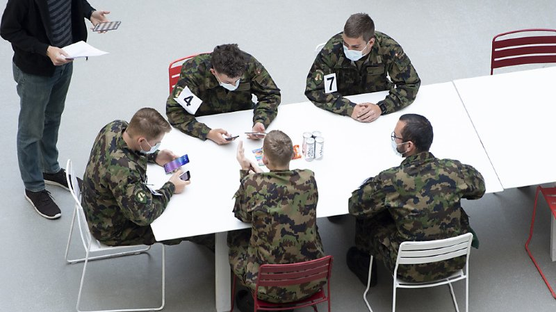 Traçage du coronavirus: l'application de traçage de l'EPFL testée par des soldats