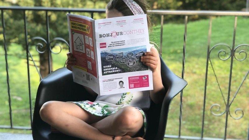 Coronavirus: le journal «Bonjour Conthey» rassemble les habitants de la commune
