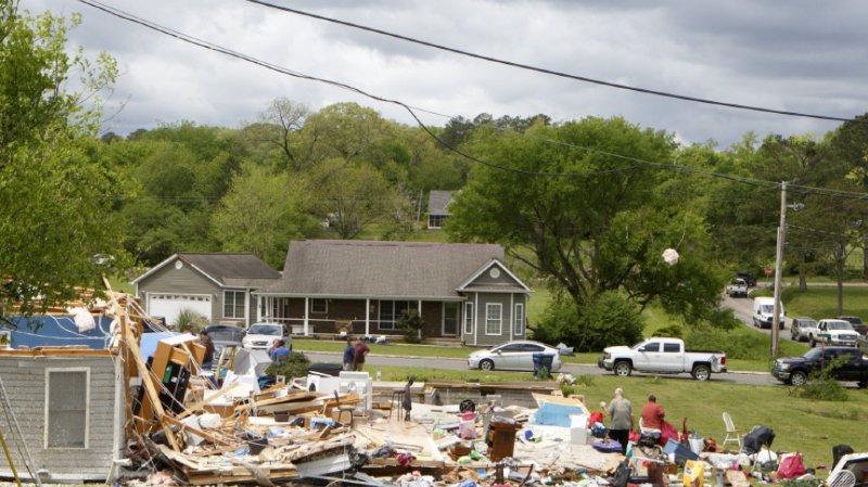 Etats-Unis: des tornades font plus de 30 morts dans le sud du pays