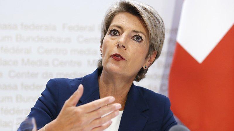 Coronavirus: «Le Conseil fédéral aurait pu mieux communiquer», reconnaît Karin Keller-Sutter