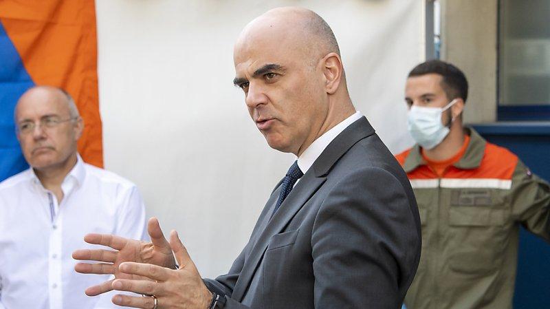 Coronavirus: le ministre de la santé Alain Berset a été testé négatif