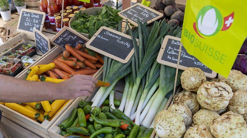 Alimentation: le bio passe la barre des 10% de part de marché