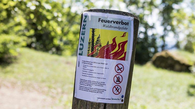 Sécheresse: le danger d'incendie de forêt augmente en Suisse