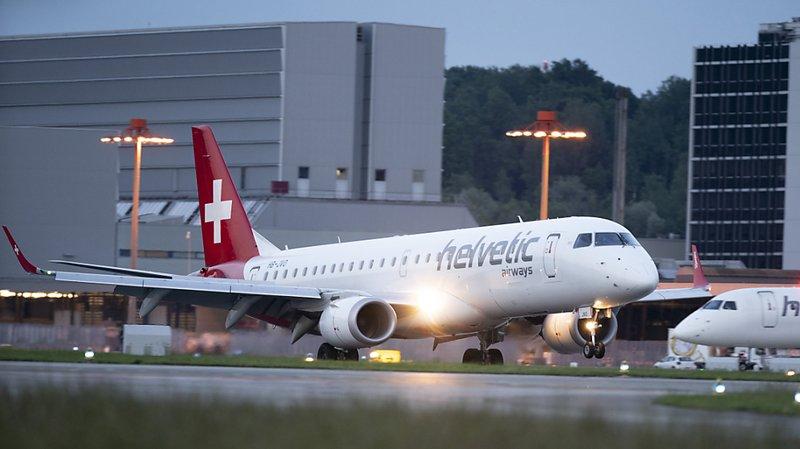Un avion de Helvetic Airways a permis à une centaine de voyageurs de rejoindre la Suisse depuis l'Afrique. (Illustration)