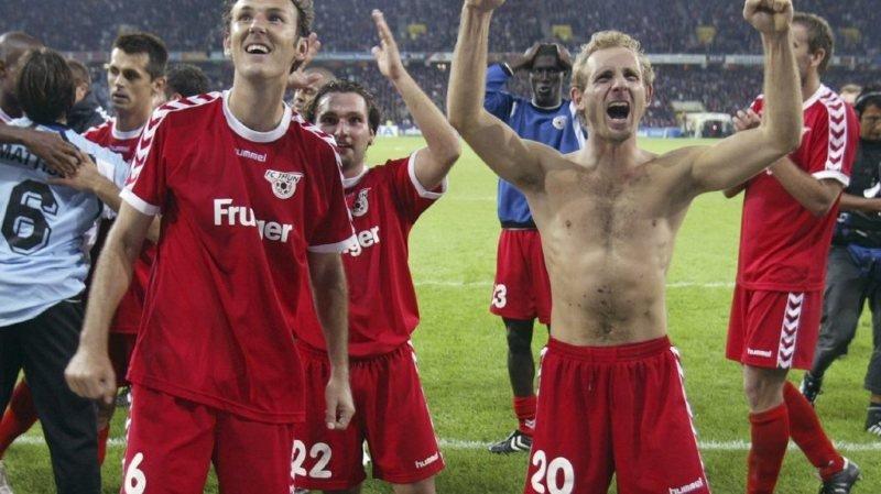 Football – Les grandes soirées des clubs suisses: Thoune s'ouvre la porte de la Ligue des Champions en 2005
