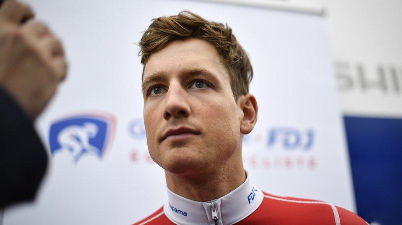 Stefan Küng a pris au sérieux ces étapes virtuelles du Tour de Suisse.