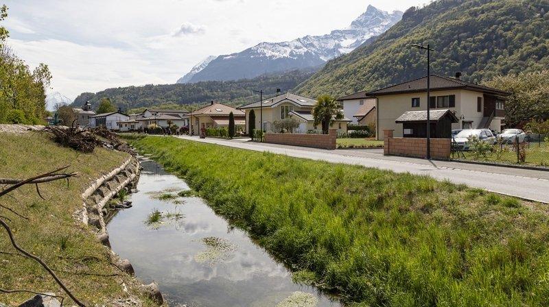 Rhône 3: travaux terminés à Massongex et à Sion