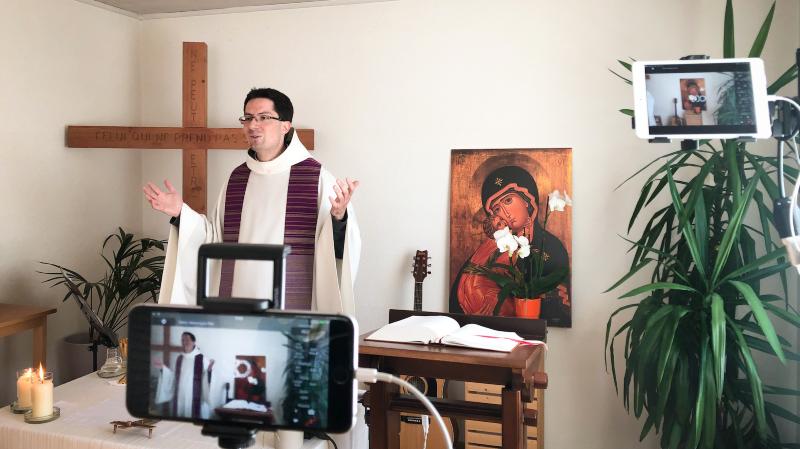 Coronavirus: l'Eglise valaisanne à l'heure de la prière 2.0 pour rester connectée à ses fidèles