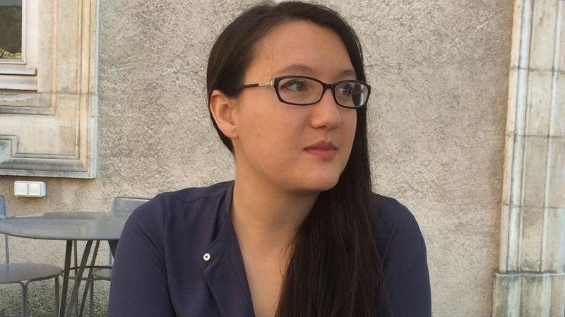 Céline Zufferey, écrivaine, Lyon.