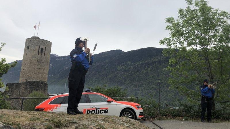 """En Valais, la police constate une """"discipline citoyenne exemplaire"""""""