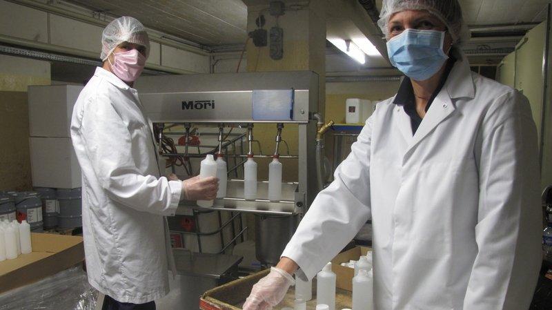 Coronavirus: trois entreprises valaisannes offrent du désinfectant aux écoles du canton