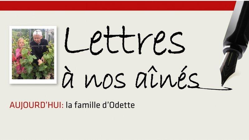 Coronavirus: la famille d'Odette lui écrit