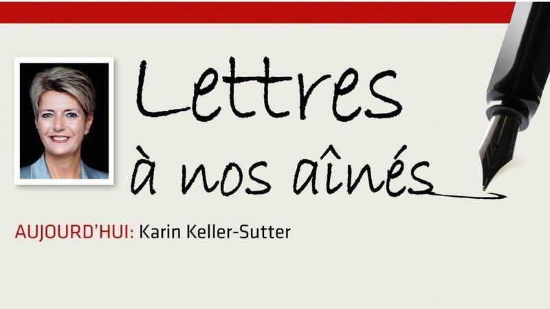 Coronavirus: la lettre de Karin Keller-Sutter à nos aînés