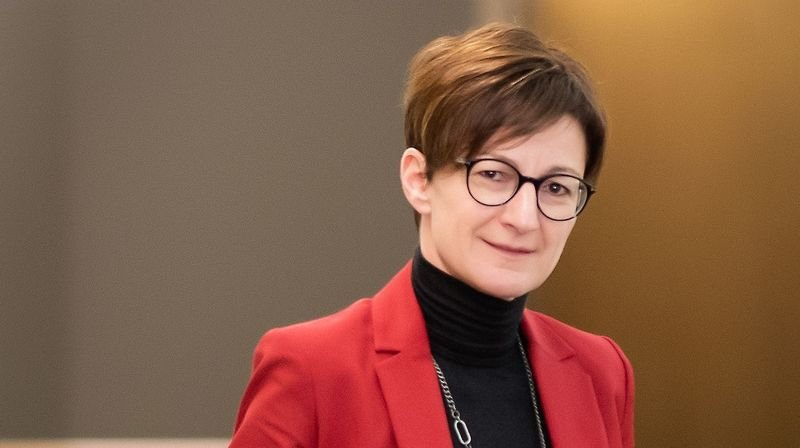 Karin Perraudin, présidente du groupe mutuel, saillon