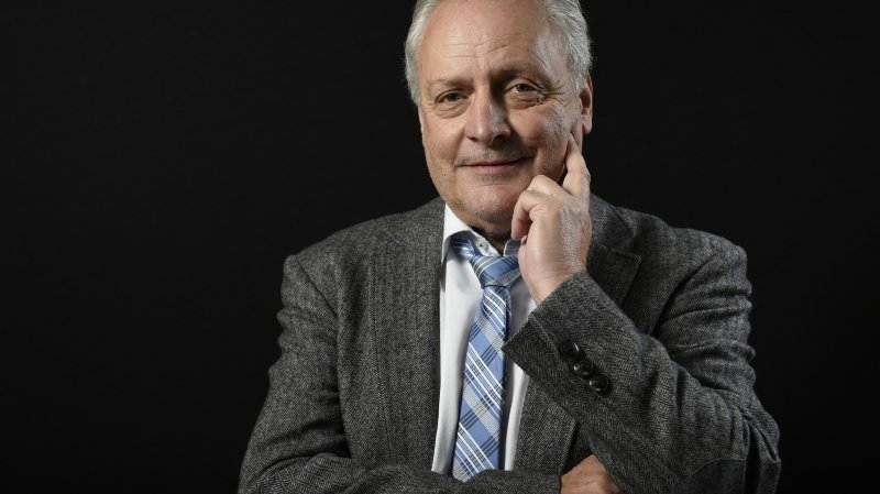 Fernand Mariétan, ancien Conseiller national et chroniqueur du Nouvelliste.