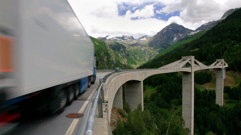 Ouvrages d'art en Valais: le pont du Ganter