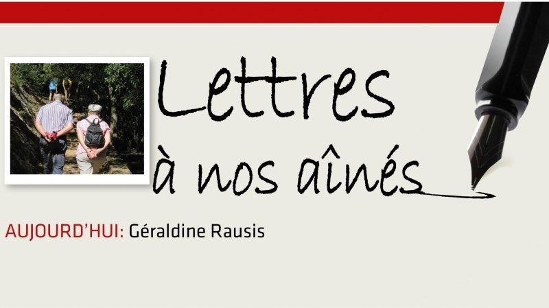 Coronavirus: la lettre aux aînés de Géraldine Rausis
