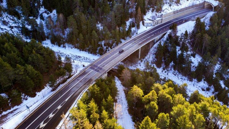 A9 Simplon: deux semaines de travaux sur le pont de Rufigraben