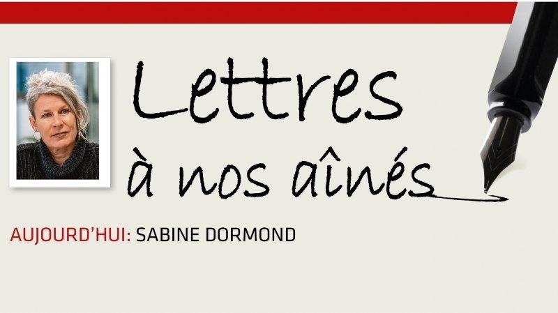 Coronavirus: la lettre à nos aînés de Sabine Dormond