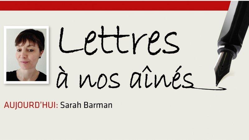 Coronavirus: Sarah Barman écrit à nos aînés