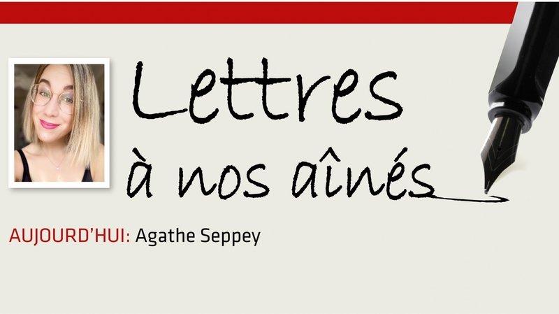 Coronavirus: la lettre d'Agathe Seppey à nos aînés
