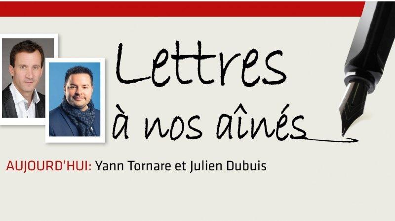 Coronavirus: Yann Tornare et Julien Dubuis écrivent aux aînés