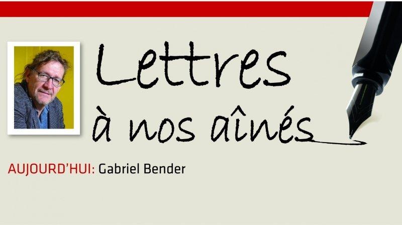 Coronavirus: la lettre aux aînés de Gabriel Bender