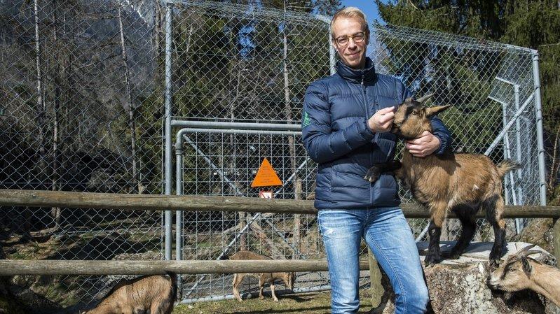 Coronavirus: bien que privé de visiteurs, le zoo des Marécottes doit continuer de vivre