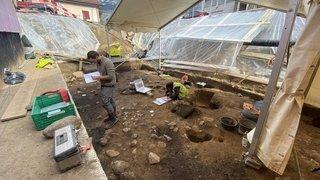 Archéologie: une habitation humaine du 4e millénaire avant notre ère découverte à Naters