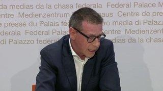 Matthias Egger présente la Task Force nationale COVID-19