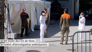 Alain Berset soutient les soignants en Valais