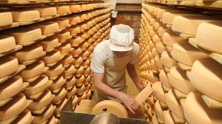 Le fromage à raclette a souffert mais s'en sort