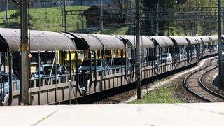 Coronavirus: travaux interrompus dans le tunnel de faîte du Lötschberg