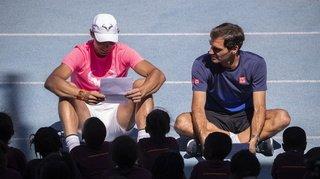 Coronavirus: Federer, Nadal et Djokovic volent au secours des joueurs moins fortunés