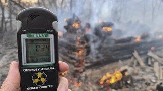 Fantôme de Tchernobyl dans les pas du virus