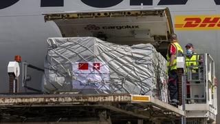 92 tonnes de matériel médical