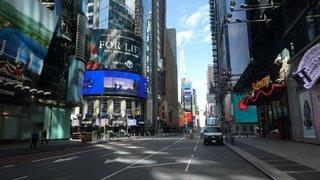 New York,  entre peur et insouciance