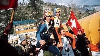 Ski alpin: Roland Collombin a fait vibrer Pierre-Marie Pittier