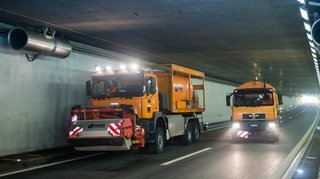 Sion: les tunnels de l'A9 seront fermés pendant quatre nuits