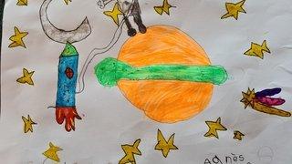 Agnès, 6 ans - Vissoie
