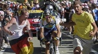 Jérémy Gailland, le Tour de France juste devant la maison