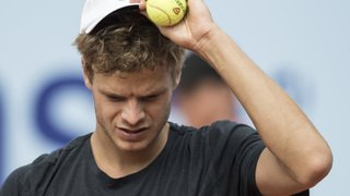 Tennis: l'Allemand Yannick Hanfmann est le premier vainqueur de la reprise