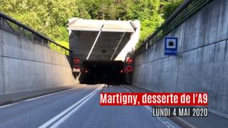Entretien du tunnel de Mont-Chemin