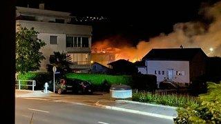 Manor Sierre: après l'incendie, les commerces ont pu rouvrir presque normalement