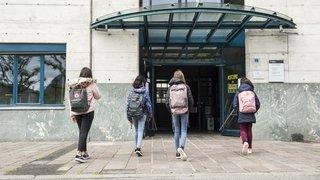 Dix jours après la reprise des cours, un élève positif au coronavirus en Valais