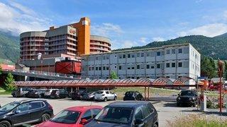 Coronavirus: l'Hôpital du Valais fait de la place aux urgences à Sion