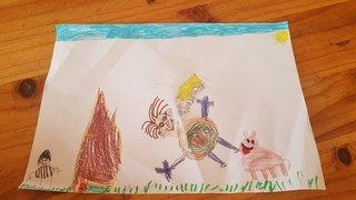 Hugo, 6 ans - Grône