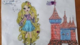 Leelou-11 ans-St-Pierre-de-Clages