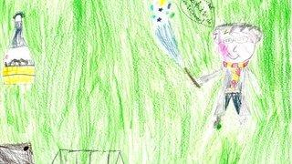Lucie, 8 ans - Riddes