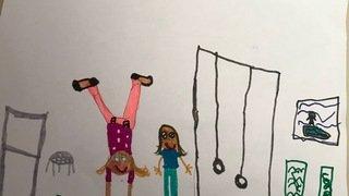 Manon, 6 ans - Sion